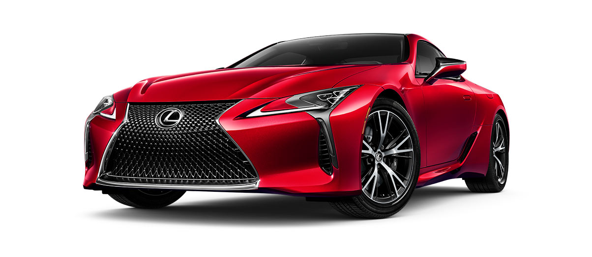 LC 500h Radiant Red CL