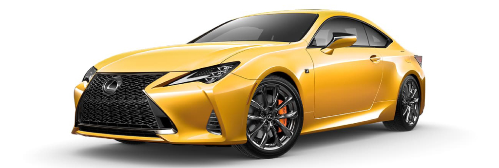 RC F Sport Naples Yellow