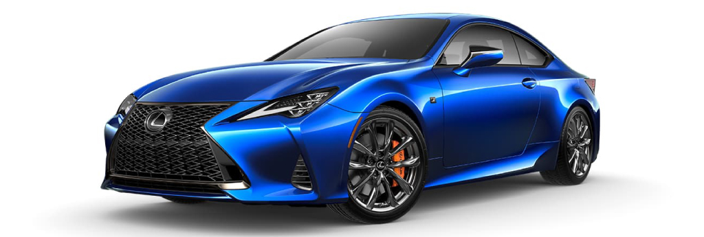 RC F Sport Heat Blue CL.