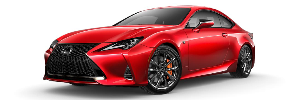 RC F Sport Radiant Red CL